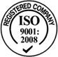 Registered Company - ISO - Logo